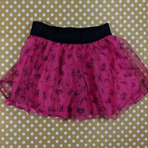 Pink Tulle Skirt - 24 mos.